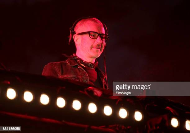 Tony McGuinness of Above Beyond performs on the Twin Peaks Stage during the 2017 Outside Lands Music And Arts Festival at Golden Gate Park on August...