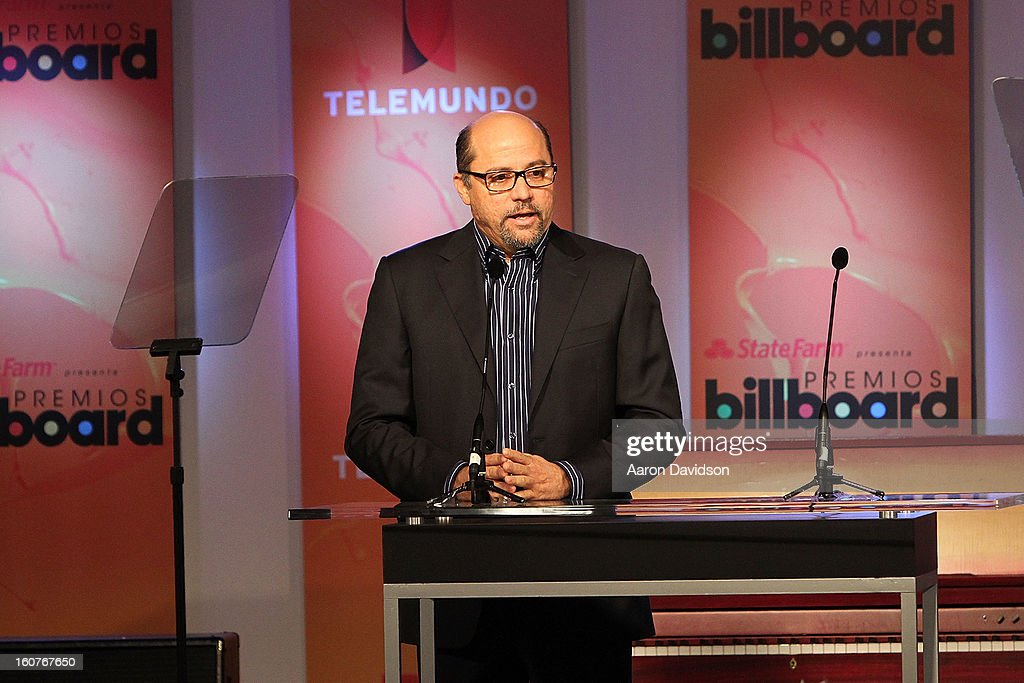 Tony Mojena attends Telemundo and Premios Billboard 2013 Press Conference at Gibson Miami Showroom on February 5, 2013 in Miami, Florida.