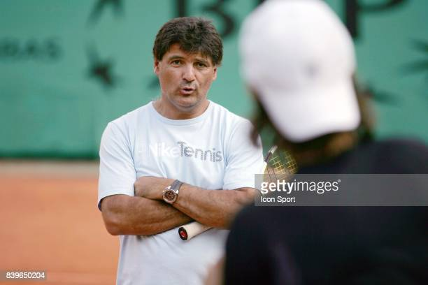 Tony NADAL Entrainement Roland Garros 2007