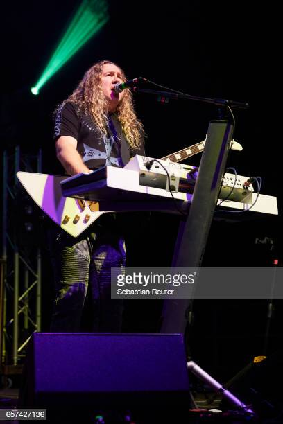 Tony OHora of Sweet performs at Columbiahalle on March 24 2017 in Berlin Germany