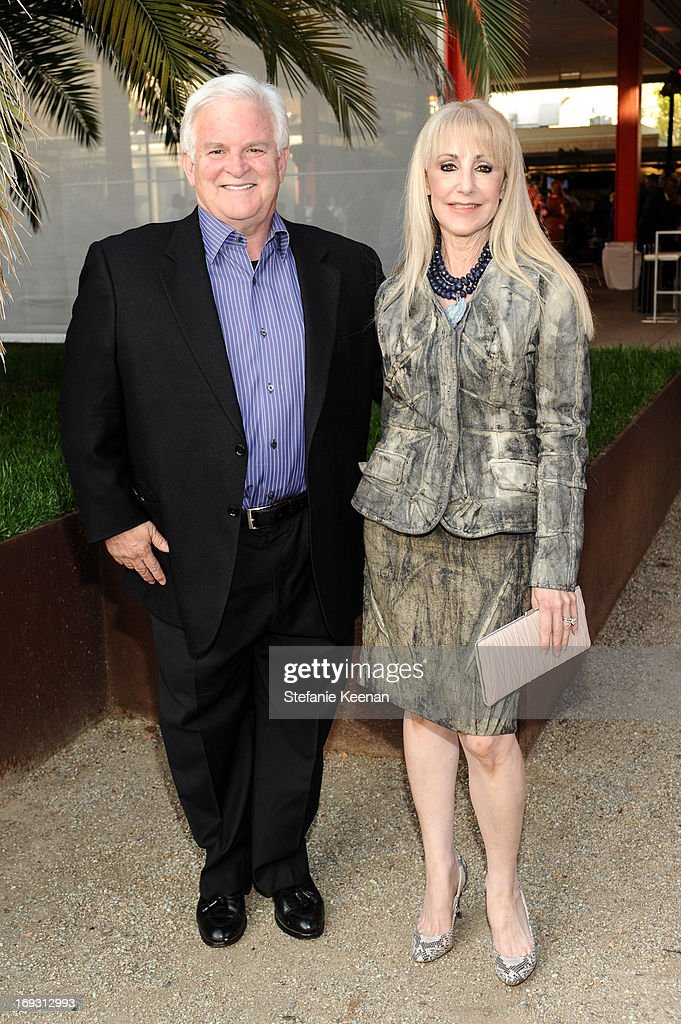 Tony Oppenheimer and Marti Oppenheimer attend LACMA Celebrates Opening Of James Turrell: A Retrospective at LACMA on May 22, 2013 in Los Angeles, California.