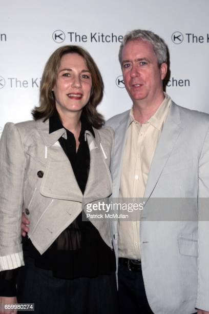 Tony Oursler and Jacqueline Humphries attend THE KITCHEN Spring Gala Benefit 2009 at Capitale on May 20 2009 in New York City