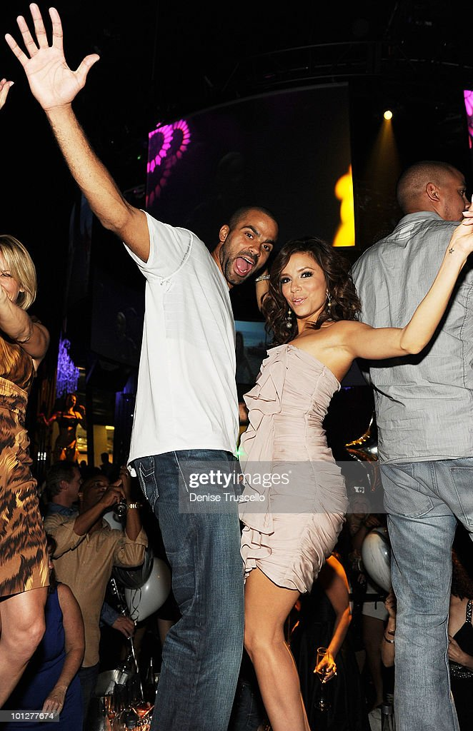 Eva Longoria Parker Hosts Tony Parker's Birthday Party at Eve Nightclub