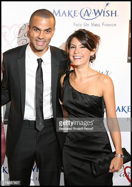Tony Parker and Marion Jolles at Par Coeur Gala Hosted By Eva Longoria And Tony Parker