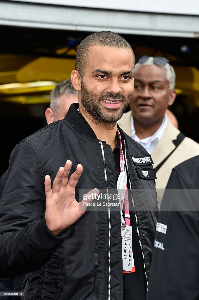 Tony Parker attends the F1 Grand Prix of Monaco on May 29, 2016 in Monte-Carlo, Monaco.