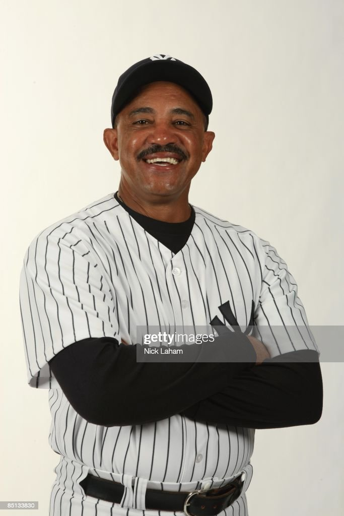 Tony Pena #56 of the New York Yankees poses during Photo Day on February 19, 2009 at Legends Field in Tampa, Florida.