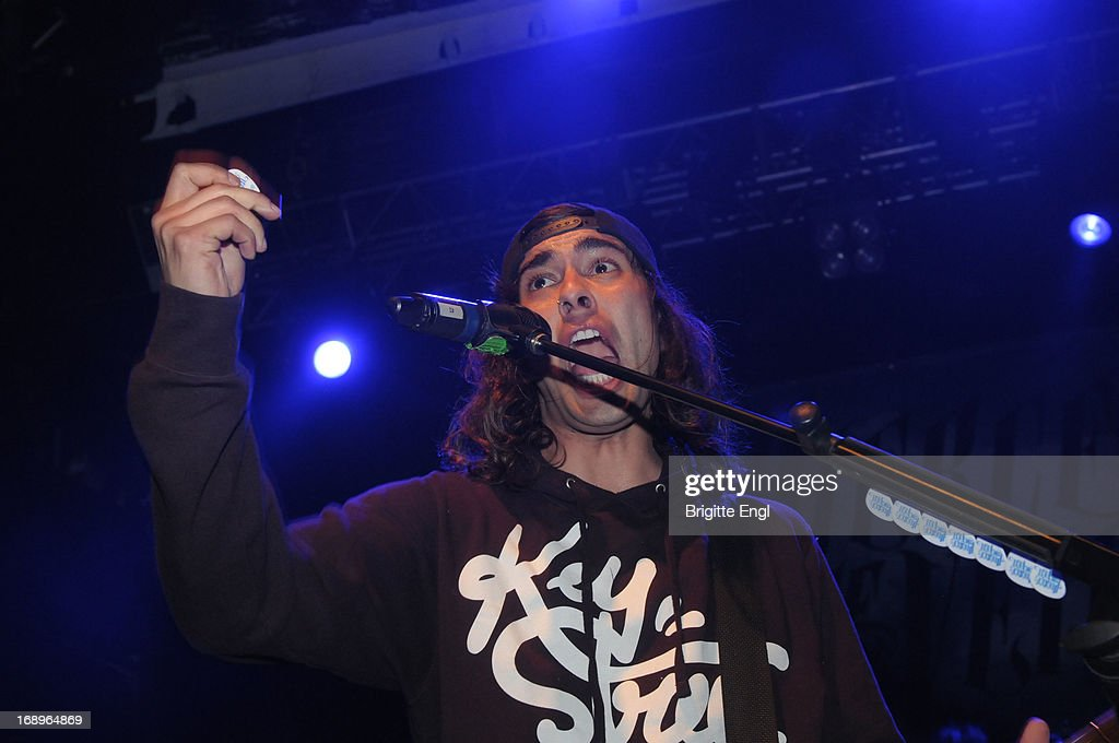 Tony Perry of Pierce The Veil perform on stage at KOKO on May 17, 2013 in London, England.