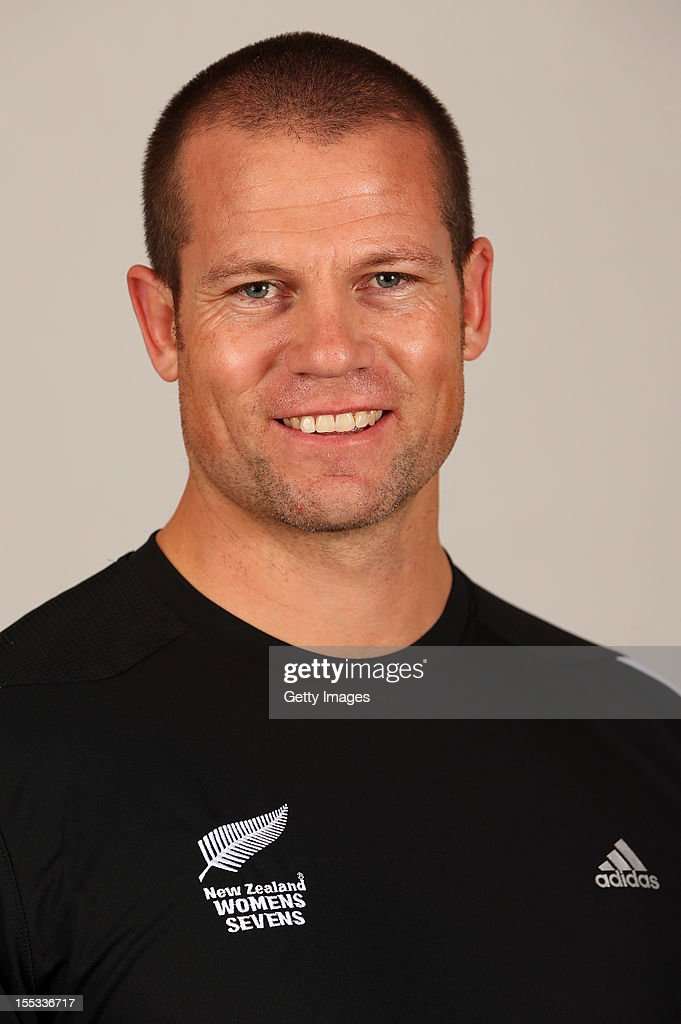 Tony Philp poses for a headshot during the New Zealand Womens Rugby Sevens headshot session at Pulman Lodge on November 3, 2012 in Auckland, New Zealand.