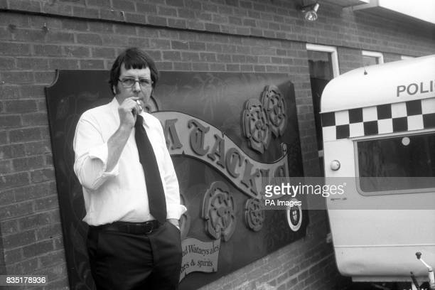 Tony Pocock manager of the Tom Tackle pub on Commercial Road Southampton as murder squad detectives were piecing together the last moments of the...