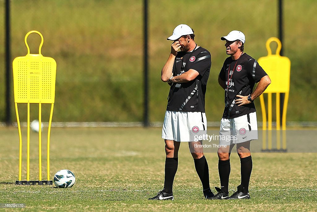 Western Sydney Wanderers Training Session