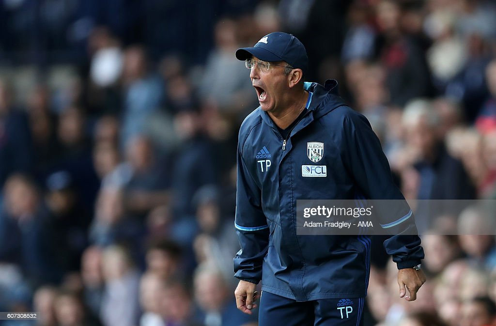 Manager Tony Pulis Leaves West Bromwich Albion