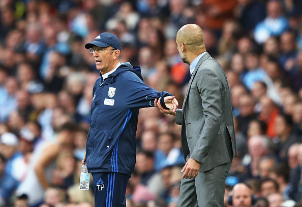 Manchester City v West Bromwich Albion - Premier League : News Photo