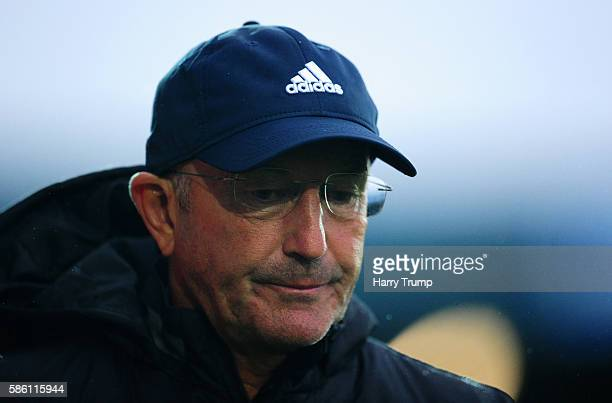 Tony Pulis Manager of West Bromwich Albion during the Pre Season Friendly Match between Torquay United and West Bromwich Albion at Plainmoor Ground...