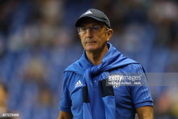 Tony Pulis the head coach / manager of West Bromwich Albion during the PreSeason Friendly between Deportivo de La Coruna and West Bromwich Albion on...