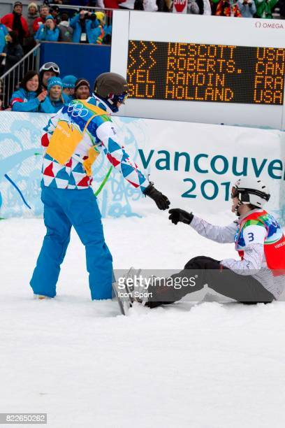 Tony Ramoin / Mike Robertson Snowboard Cross Cypress Mountain Jeux Olympiques 2010 Vancouver