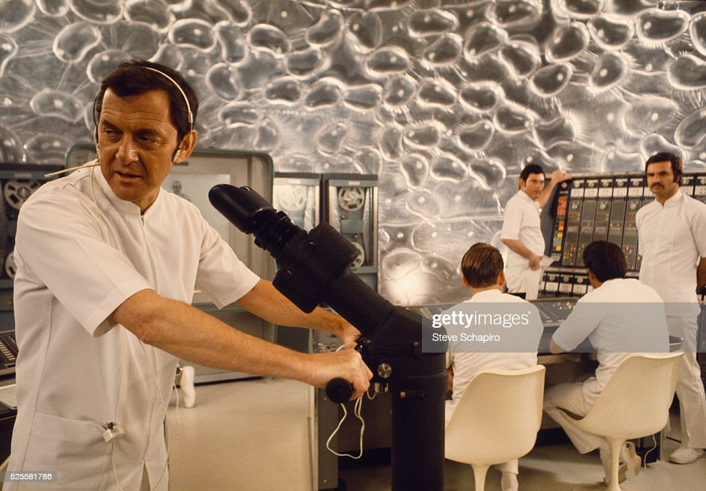<a gi-track='captionPersonalityLinkClicked' href=/galleries/search?phrase=Tony+Randall+-+Actor&family=editorial&specificpeople=167042 ng-click='$event.stopPropagation()'>Tony Randall</a> and <a gi-track='captionPersonalityLinkClicked' href=/galleries/search?phrase=Burt+Reynolds&family=editorial&specificpeople=204674 ng-click='$event.stopPropagation()'>Burt Reynolds</a> operate the body's control room during the sperm scene in Woody Allen's Everything You Wanted to Know About Sex But Were Afraid to Ask.