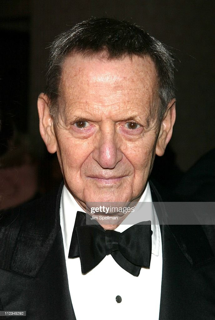 Tony Randall during The Actors' Fund of America's 'Standing Ovation!' Gala 80th Birthday Celebration in Honor of James M. Nederlander at Sheraton New York in New York City, New York, United States.