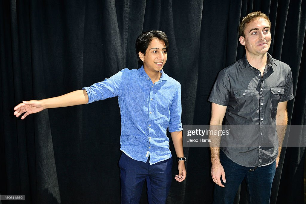 <a gi-track='captionPersonalityLinkClicked' href=/galleries/search?phrase=Tony+Revolori&family=editorial&specificpeople=12456874 ng-click='$event.stopPropagation()'>Tony Revolori</a> and Lego builder Ryan Ziegelbauer attend the Unveiling of 'Grand Budapest Hotel' Made of 50,000 Lego bricks in celebration of the DVD/Blu-Ray release at The Grove on June 14, 2014 in Los Angeles, California.