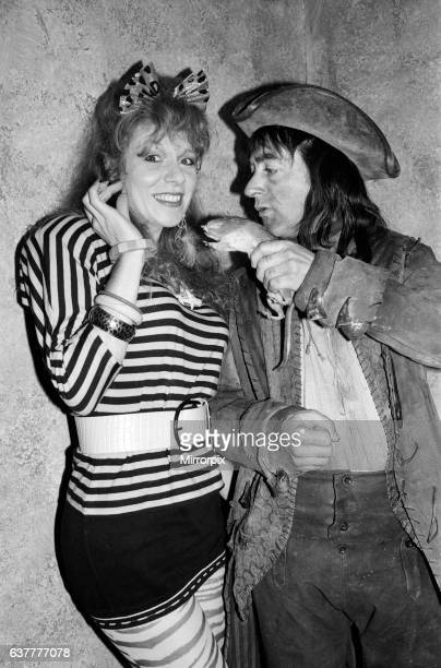 Tony Robinson and Gilly Coman BBC Children in Need 1987 28th November 1987