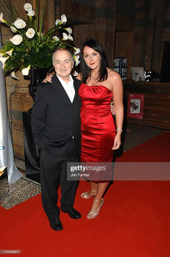 Tony Robinson and guest during The Orange British Academy Film Awards 2007 - Nomination Reception Party at Natural History Museum London in London, Great Britain.