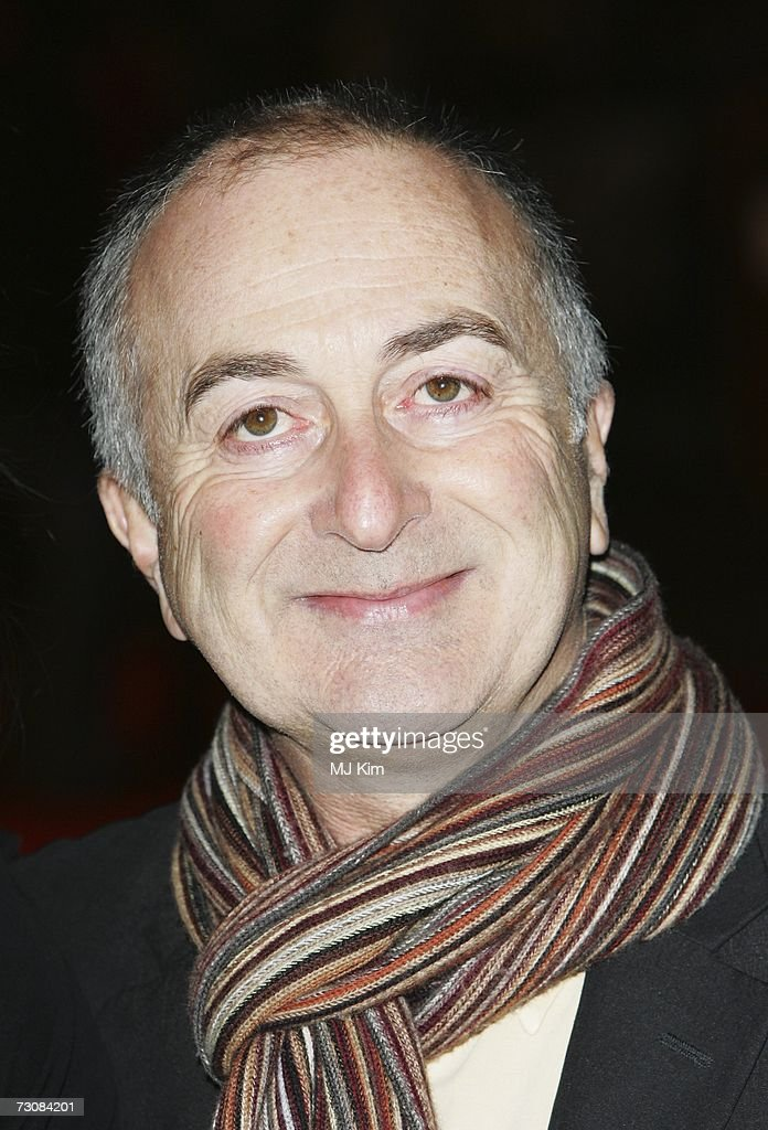Tony Robinson attends the UK premiere of 'Blood Diamond' held at the Odeon Leicester Square on January 23, 2006 in London, England.