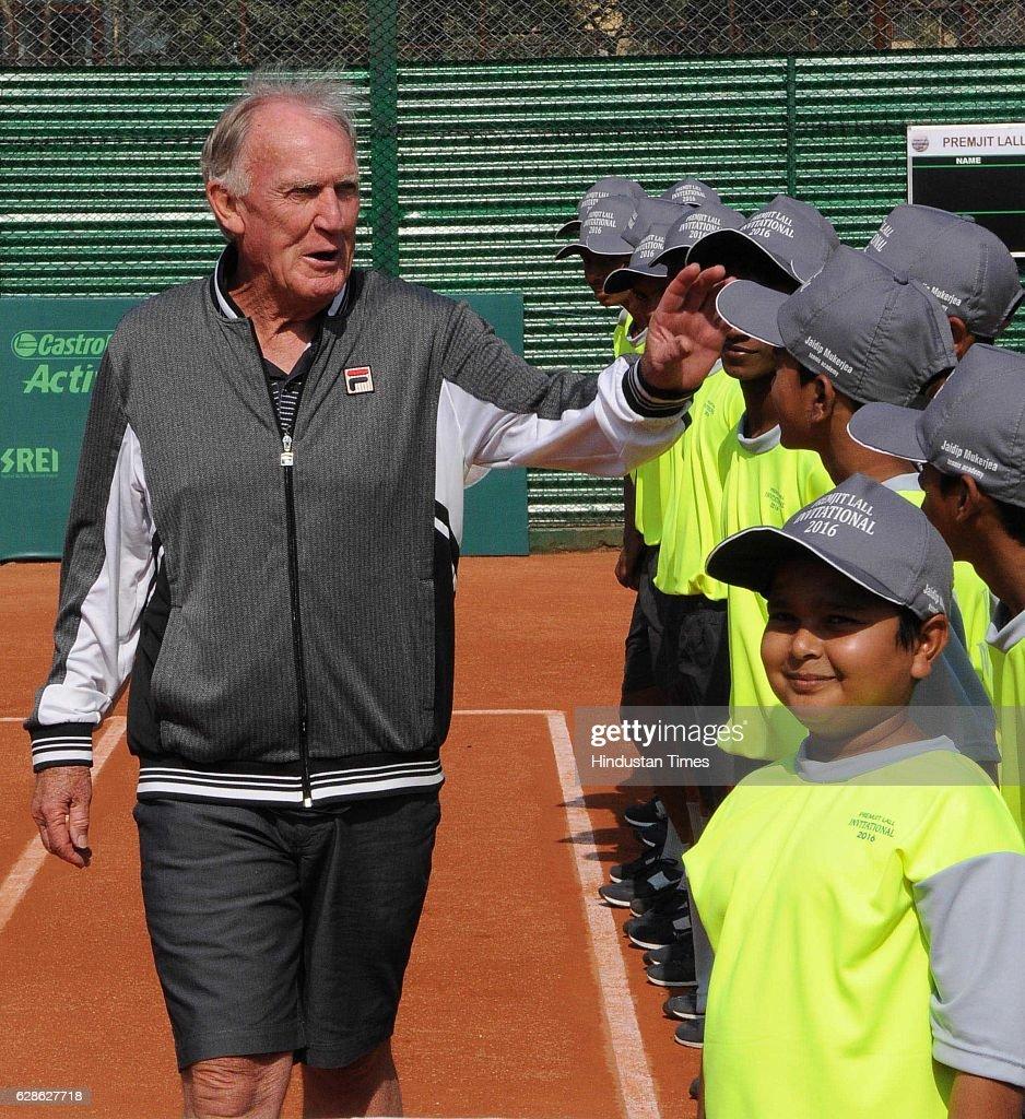 Former Australian Tennis Coach Tony Roche At Jaidip Mukerjea