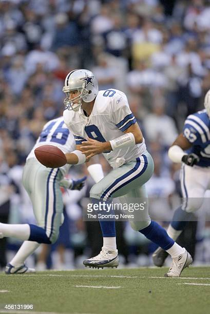 Tony Romo of the Dallas Cowboys during a game against the Indianapolis Colts on November 19 2006 at Texas Stadium in Arlington Texas