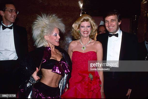 Tony Schwartz High Voltage Ivana Trump Donald Trump attend the book party for 'The Art of the Deal' at Trump Tower December 12 1987 in New York City
