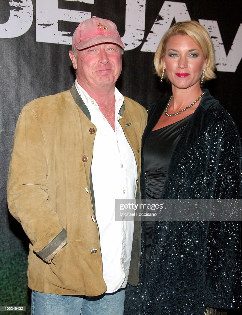 Tony Scott and Guest during 'Deja Vu' New York Premiere Arrivals at Ziegfeld Theatre in New York City New York United States