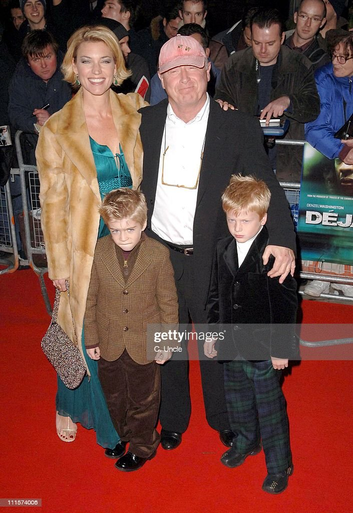 Tony Scott director and family during 'Deja Vu' London Film Premiere Arrivals at Leicester Square in London Great Britain