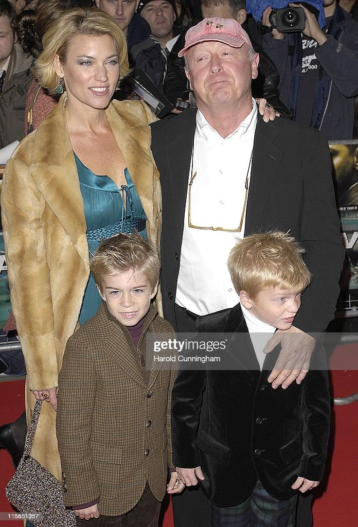 Tony Scott director and family during 'Deja Vu' London Premiere Arrivals at Leicester Square in London Great Britain