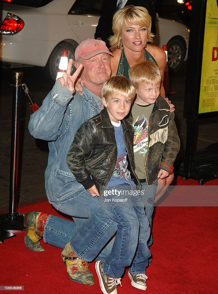 Tony Scott director with his family during New Line Cinema's 'Domino' Los Angeles Premiere Arrivals at Grauman's Chinese Theater in Hollywood...