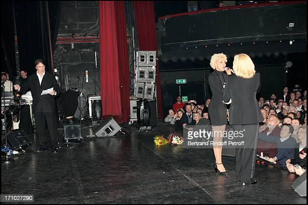 Tony Scotti at Sylvie Vartan In Concert At The Olympia In Paris