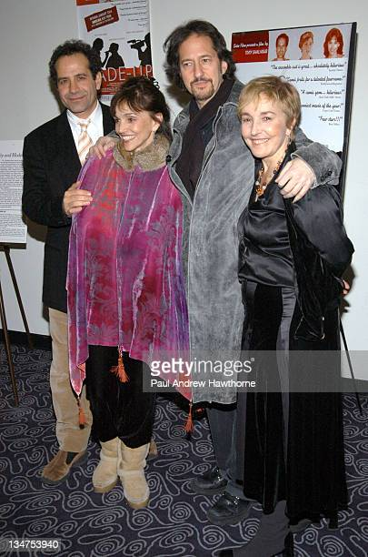 Tony Shalhoub Brooke Adams and Lynne Adams during 'MadeUp' Premiere New York at Angelika Film Centre in New York City New York United States