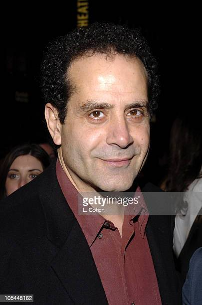 Tony Shalhoub during 'Be Cool' Los Angeles Premiere Red Carpet at Grauman's Chinese Theater in Los Angeles California United States