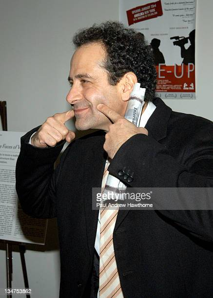 Tony Shalhoub during 'MadeUp' Premiere New York at Angelika Film Centre in New York City New York United States
