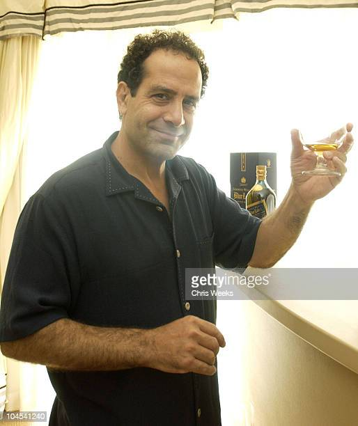 Tony Shalhoub during The 2003 Johnnie Walker Blue Gentlemen's Suite Day Two at Four Seasons in Beverly Hills California United States