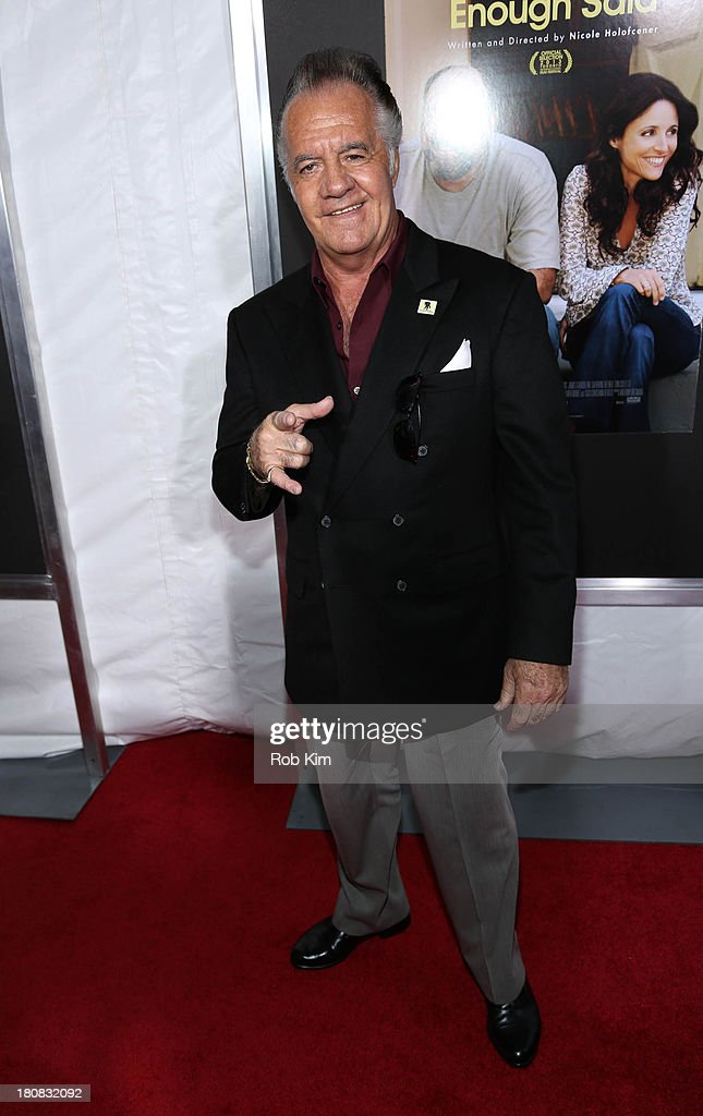 <a gi-track='captionPersonalityLinkClicked' href=/galleries/search?phrase=Tony+Sirico&family=editorial&specificpeople=218067 ng-click='$event.stopPropagation()'>Tony Sirico</a> attends 'Enough Said' New York Screening at Paris Theater on September 16, 2013 in New York City.