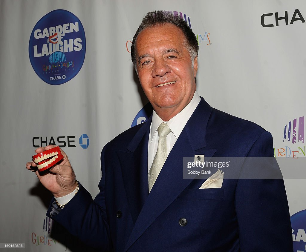 Tony Sirico attends 'Garden Of Laughs' Benefit at Madison Square Garden on January 26, 2013 in New York City.