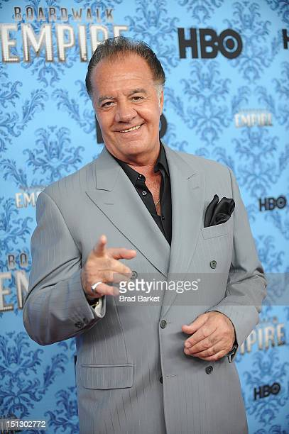 Tony Sirico attends HBO's 'Boardwalk Empire' Season Three New York Premiere at Ziegfeld Theater on September 5 2012 in New York City
