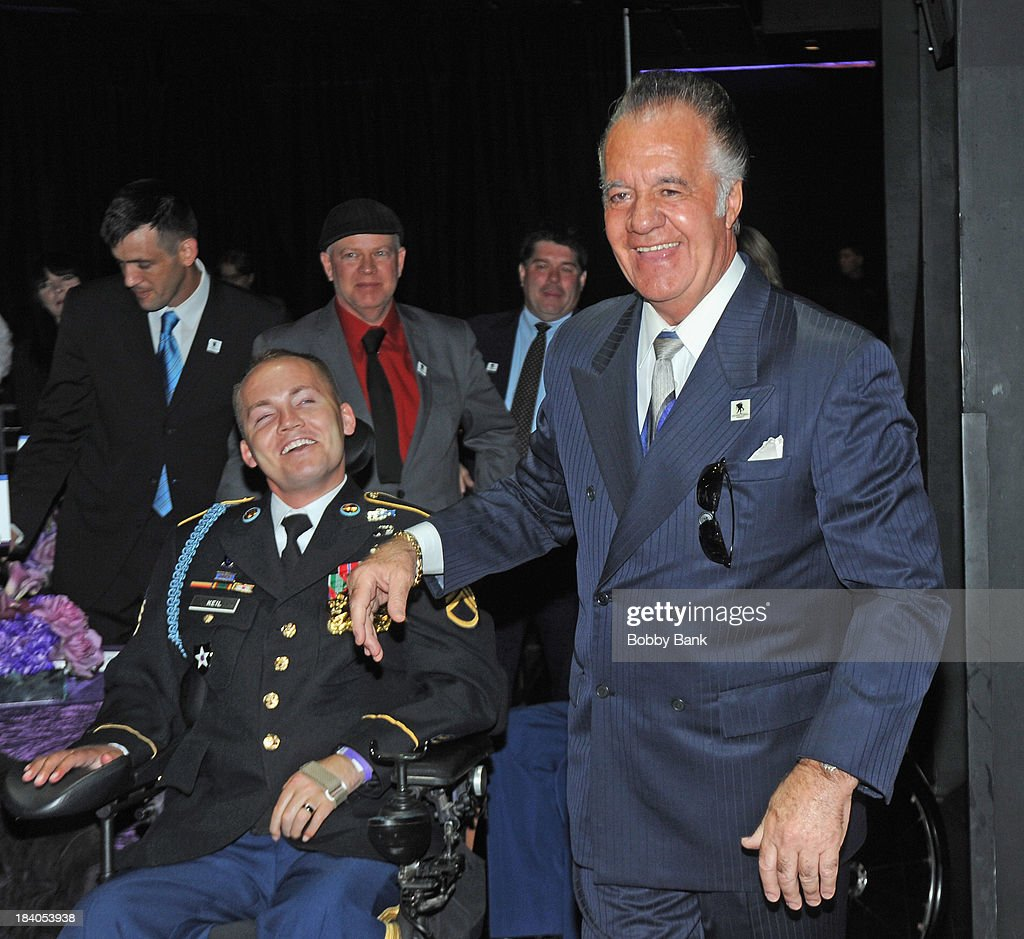 Tony Sirico attends the Wounded Warrior Project Carry Forward Awards Show at Club Nokia on October 10, 2013 in Los Angeles, California.