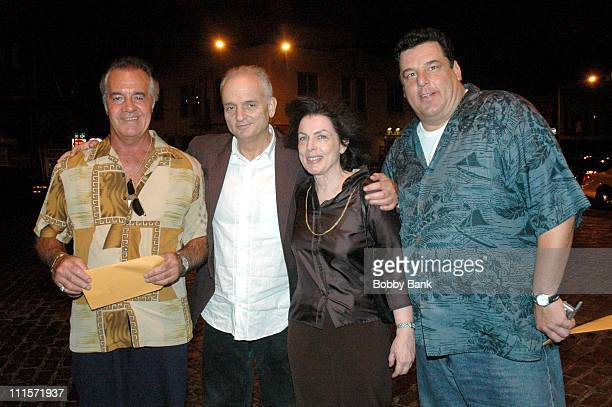 Tony Sirico David Chase Denise Chase and Steve Schirripa