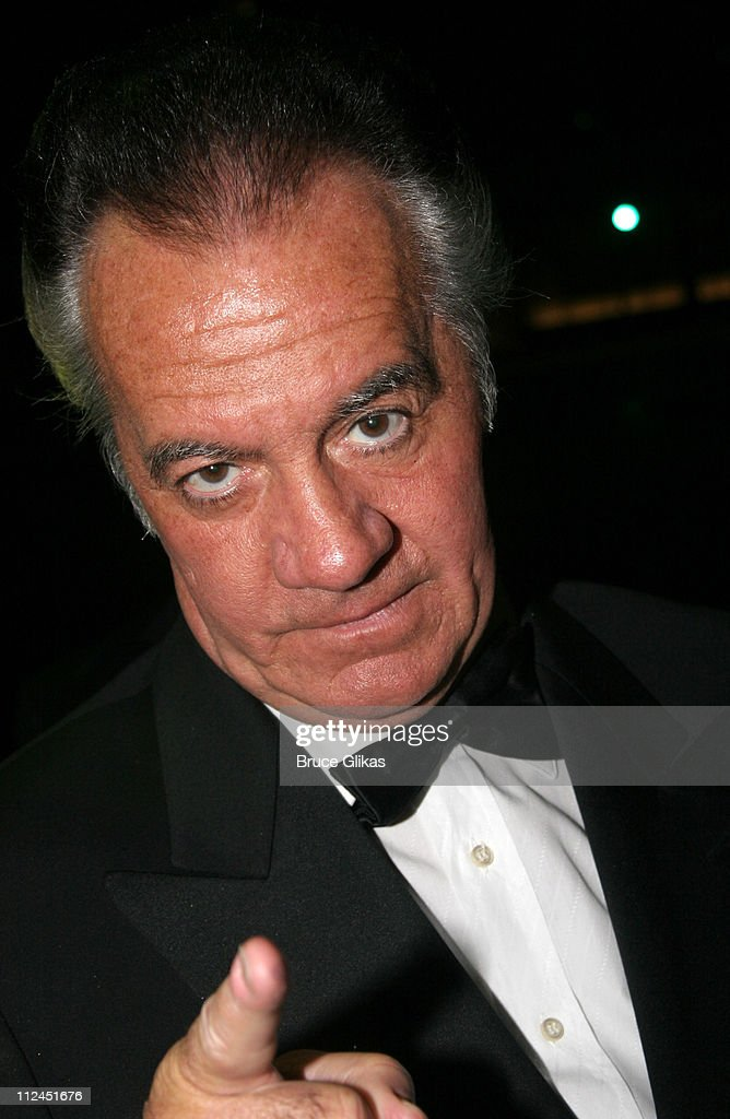 Tony Sirico during 2005 Screen Actors Guild Awards - HBO Post SAG Awards Dinner at Spago Restaurant in Beverly Hills, California, United States.