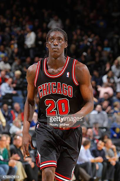 Tony Snell of the Chicago Bulls in a game against the Golden State Warriors on February 6 2014 at Oracle Arena in Oakland California NOTE TO USER...