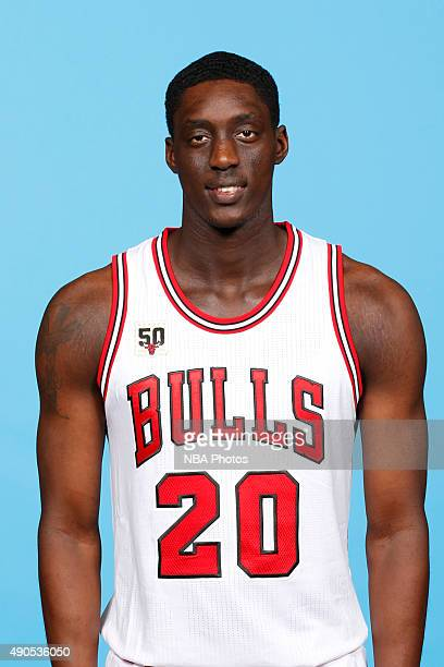 Tony Snell of the Chicago Bulls poses for a portrait during Media Day on September 28 2015 at the Advocate Center in Chicago Illinois NOTE TO USER...
