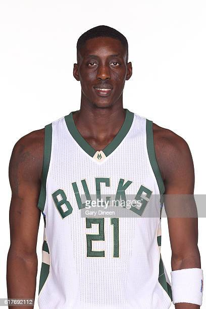 Tony Snell of the Milwaukee Bucks poses for a head shot during a photo shoot on October 23 2016 in Milwaukee WI at the Bradley Center NOTE TO USER...