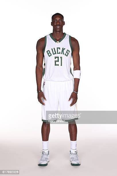Tony Snell of the Milwaukee Bucks poses for portraits during a photo shoot on October 23 2016 in Milwaukee WI at the Bradley Center NOTE TO USER User...
