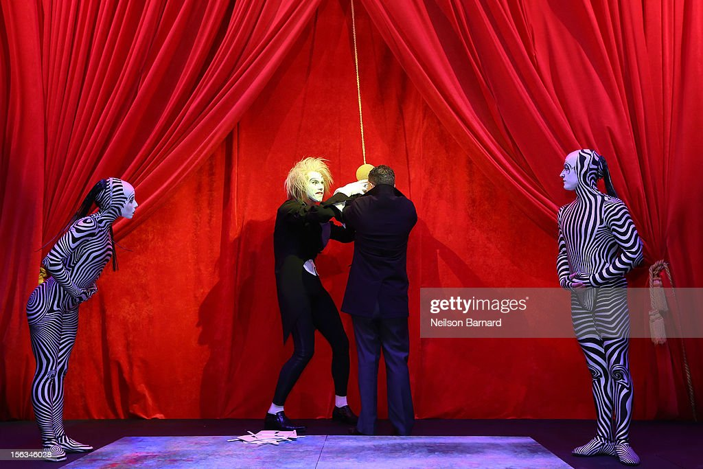 Tony Spring, President and COO Bloomingdale's unveils the 2012 Holiday Windows with a Cirque Du Soleil performance on November 13, 2012 in New York City.