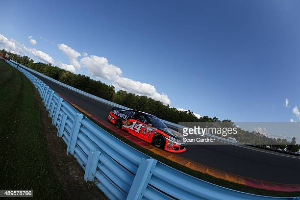 Tony Stewart driver of the Bass Pro Shops/Mobil 1 Chevrolet drives during practice for the NASCAR Sprint Cup Series CheezIt 355 at Watkins Glen...