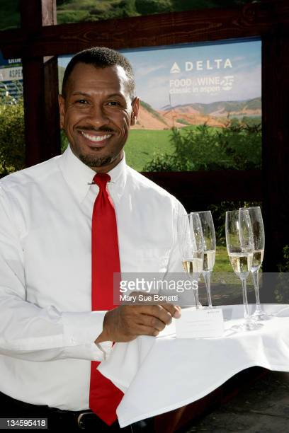 Tony Suggs of Delta Airlines during Delta Food and Wine Classic 25th Anniversary at 2007 Two Twelve Access Aspen in Aspen Colorado United States